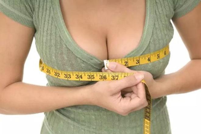Ngực tăng kích cỡ