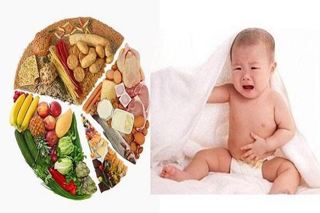dinh dưỡng của bé