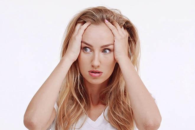 Phụ nữ bị stress