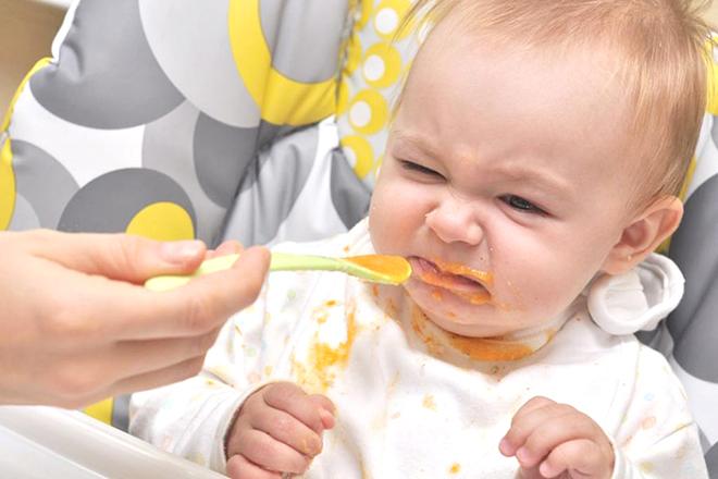 Trẻ không thích ăn
