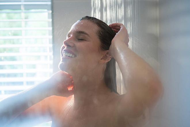 Tắm với nước ấm