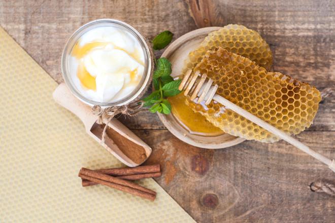 Sữa chua mật ong
