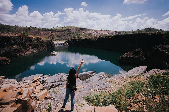 Hồ đá ở Đắk Lắk