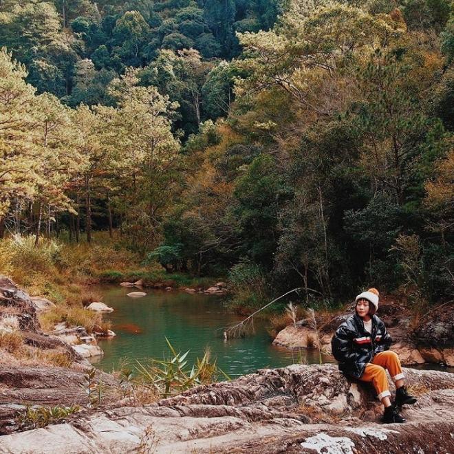 Hồ Ankroet dưới chân Lang Biang đẹp mê hồn