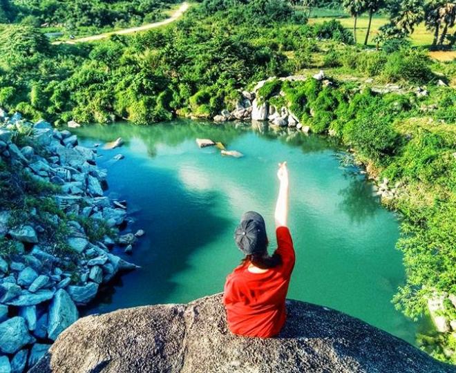 Hồ Tà Pạ ở An Giang được ví như Tuyệt tình cốc ở miền Tây