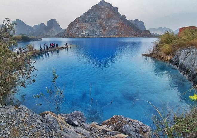Hồ nước đẹp như trong tiểu thuyết kiếm hiệp Kim Dung ở Hải Phòng