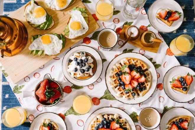 Bữa ăn sáng lành mạnh mỗi ngày giúp duy trì sức khỏe tốt