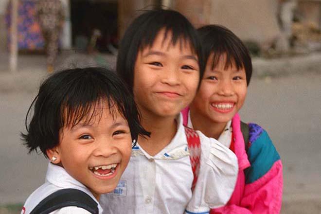 Nhiều trẻ em Việt Nam thấp bé nhẹ cân