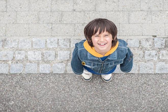Trẻ vui vẻ tâm lý thoải mái