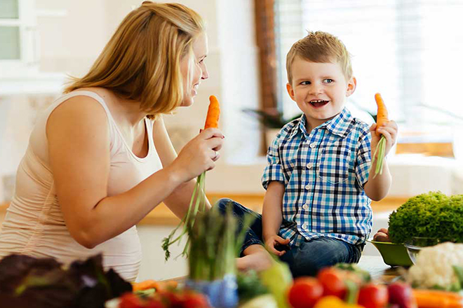 Các chất dinh dưỡng cần cho trẻ