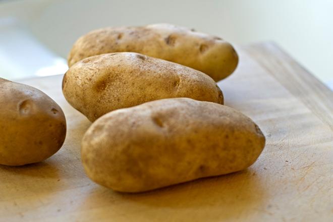 Khoai tây cỡ đều nhau