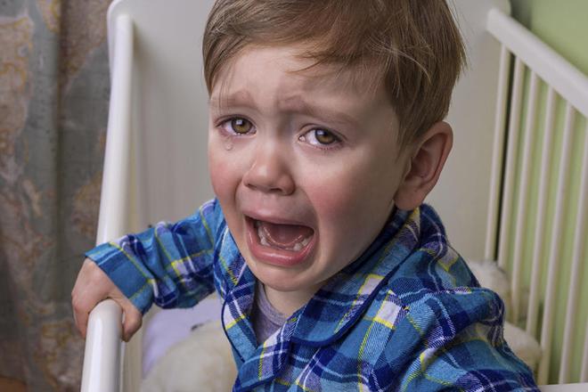 Trẻ khóc ban đêm