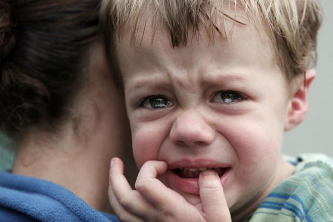 Trẻ gặp ác mộng