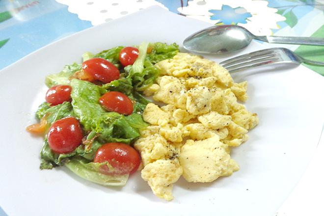 Trứng xốp mặn