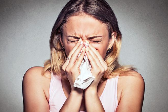 Nghẹt mũi khó chịu