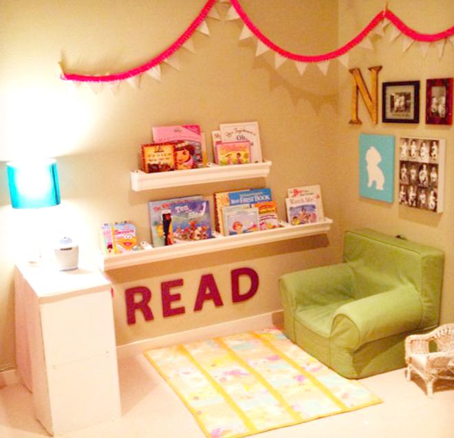Khu vực đọc sách