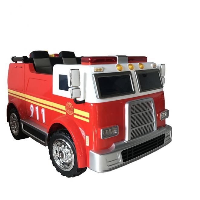Xe ô tô điện trẻ em cứu hỏa LL 911