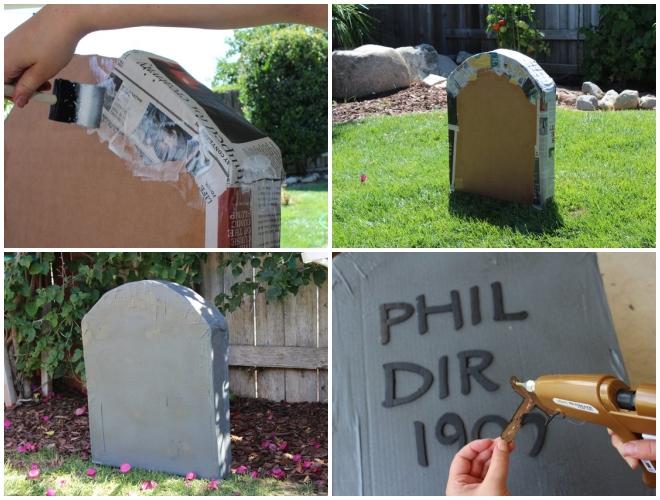 Đến lúc trang trí tấm bia mộ có một không hai rồi