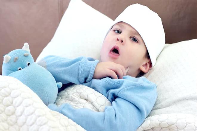 Trẻ ho và sốt