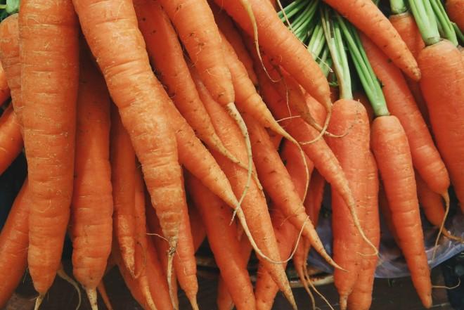Cà rốt cung cấp lượng vitamin A cho mẹ bầu và thai nhi một cách an toàn