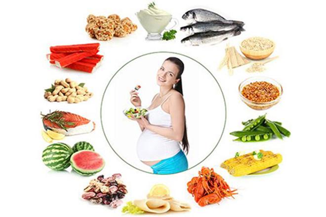 Chế độ ăn từng tháng thai kỳ