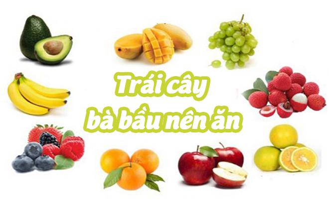 Trái cây nên ăn
