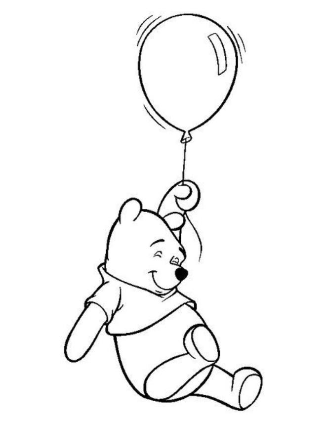 Gấu Pooh và bóng bay
