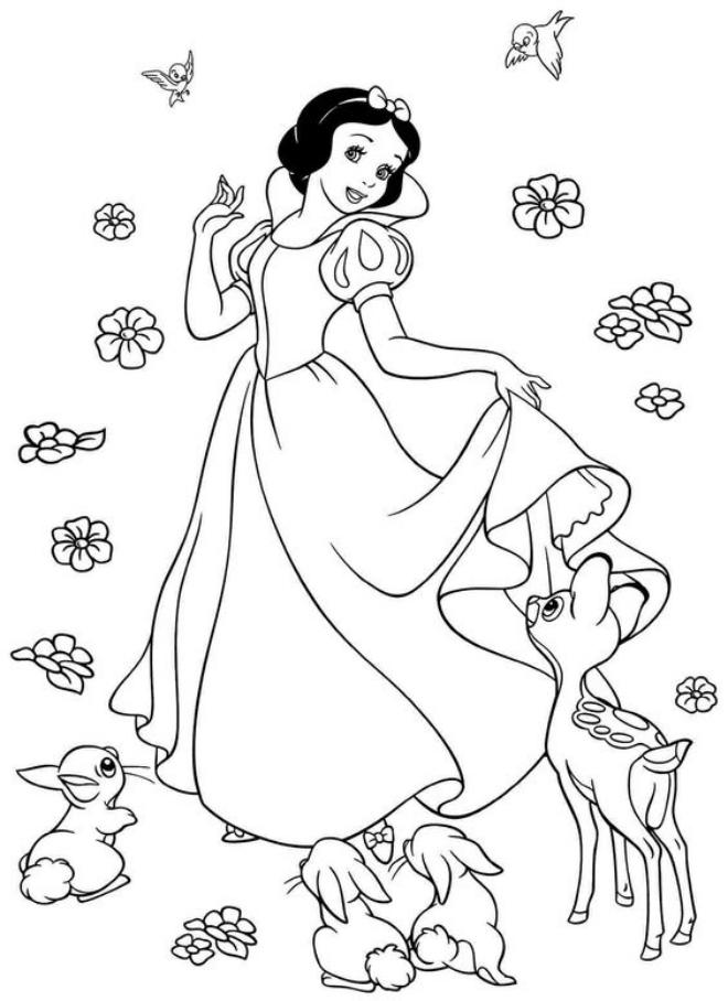 Công chúa Bạch tuyết và chú nai nhỏ