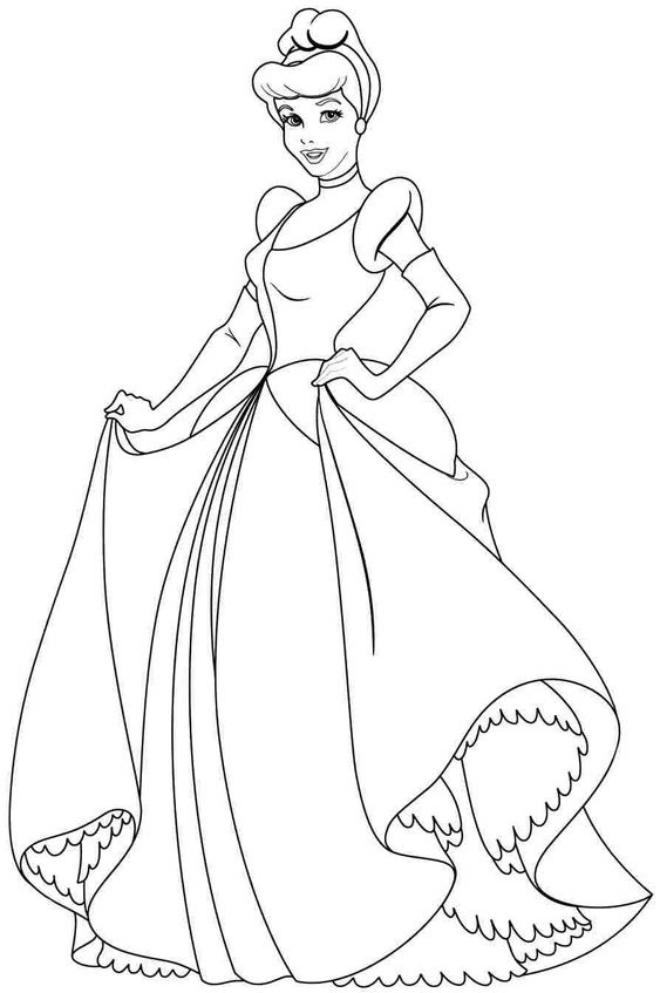 Công chúa Lọ Lem Cinderella đến vũ hội