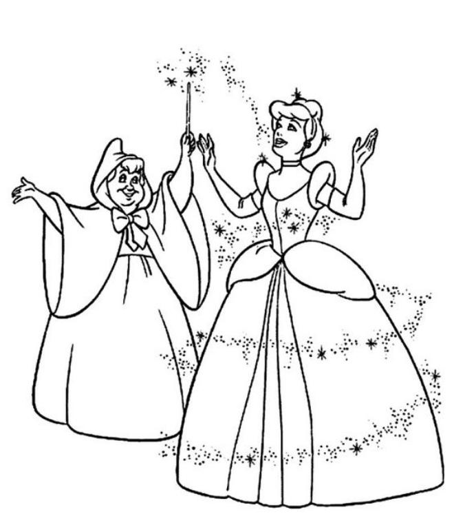 Công chúa Lọ Lem và bà tiên