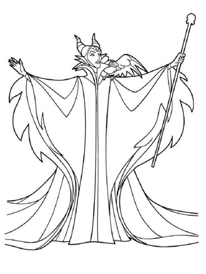 Nhân vật Cô tiên Hắc ám Maleficent