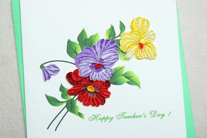 Thiệp hoa