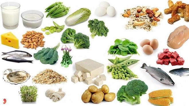 thuc pham nhieu vitamin