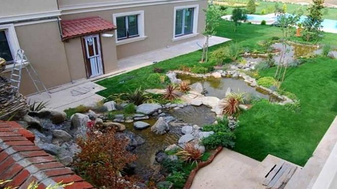 nhà cấp 4 sân vườn