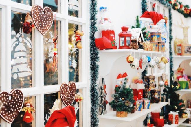 Quán cà phê Giáng sinh
