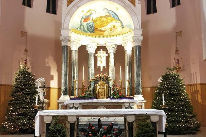 Giáng sinh ở nhà thờ