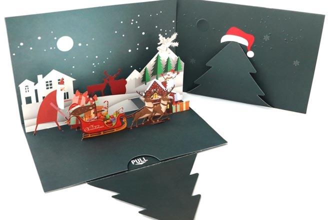 Thiệp 3D Noel