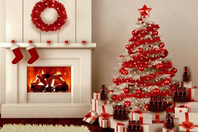Phong cách cây thông trắng đỏ