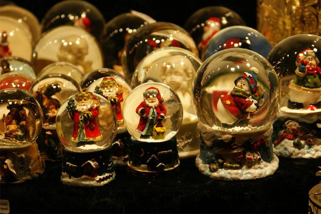 Quà Giáng Sinh ở cửa hàng