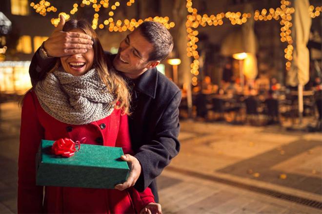 Tặng quà Noel cho người yêu