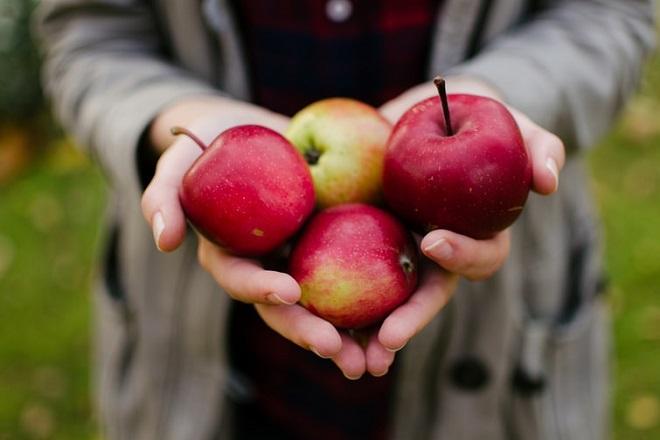 giảm cân với táo