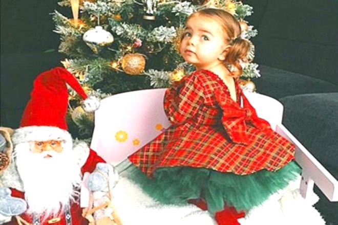 Đầm Noel cho bé gái
