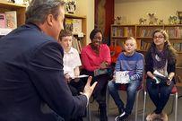 Khi trẻ con hỏi khó các tổng thống