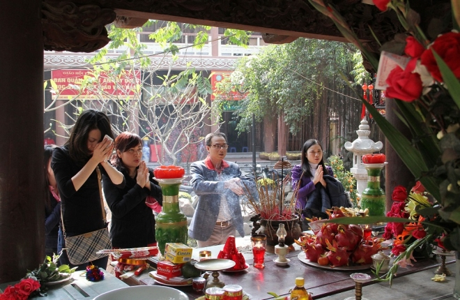lễ vật lễ chùa
