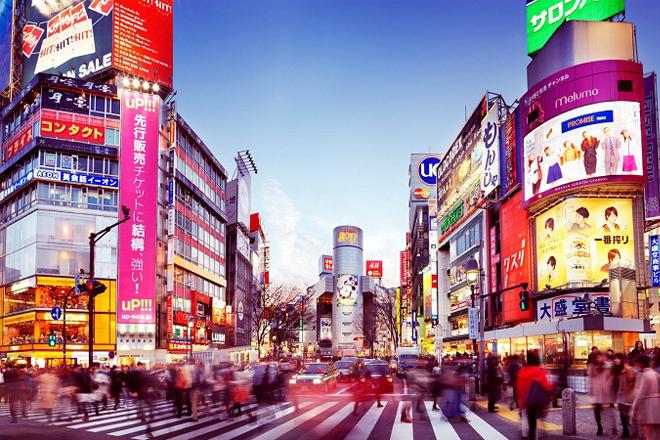 Dạo chơi Tokyo