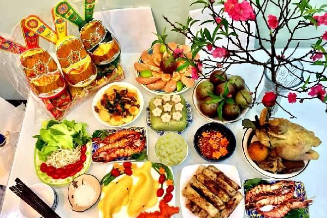 Những món ăn trong mâm cỗ cúng ông Táo