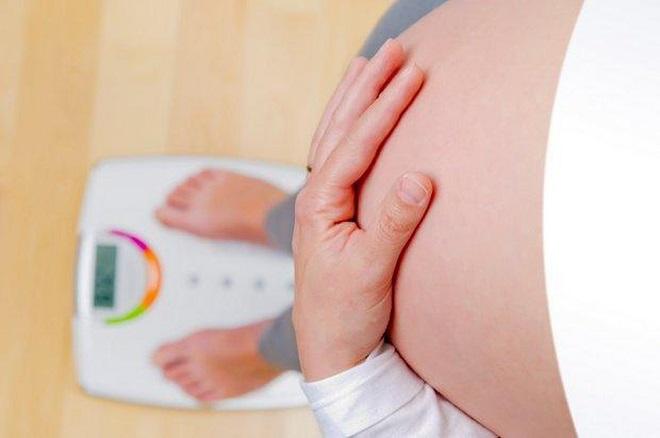 mẹ bầu 31 tuần nặng bao nhiêu là vừa