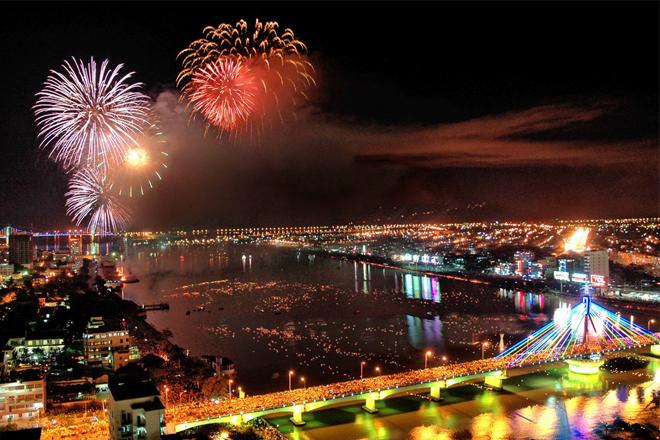 Những địa điểm xem pháo hoa ở Đà Nẵng dưới sapo