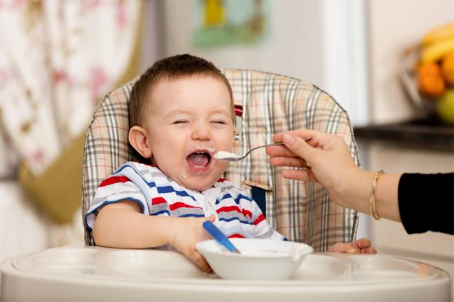 Món ăn ngày Tết cho bé dưới 1 tuổi hay