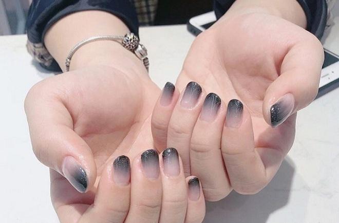 nail tet mau ombre
